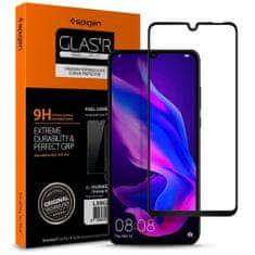 Spigen Full Cover ochranné sklo pre Huawei P30 Lite, čierne