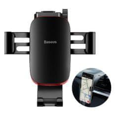 BASEUS Metal Age Gravity autós telefontartó műszerfalra, fekete