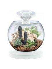 Tetra Duo filtrirana steklena posoda, LED, 6,8, bela