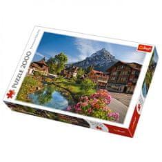 Trefl sestavljanka, Alpe poleti, 2000 kosov