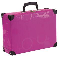Karton P+P Laminált bőrönd szögletes ólmozott NEO COLORI rózsaszín