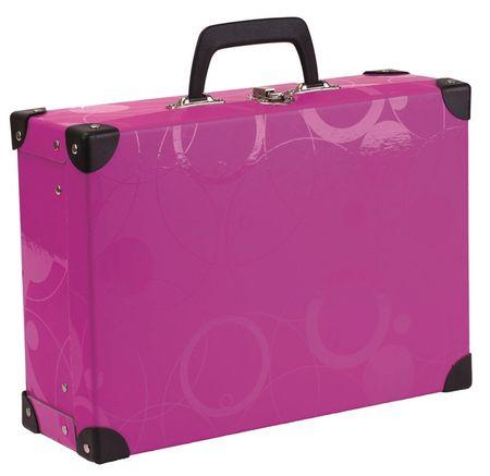 Karton P+P Kovan kvadratni kovček NEO COLORI, roza