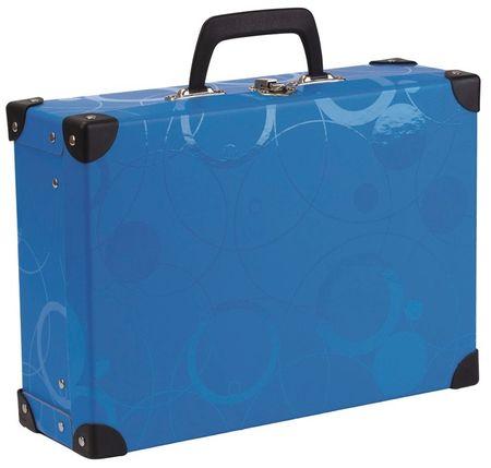 Karton P+P Metalni kvadratni kovčeg NEO COLORI, plavi