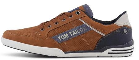 Tom Tailor férfi sportcipő 8082901, 45, barna