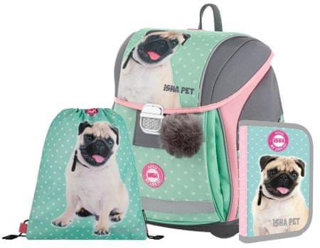 Karton P+P Premium Light Isha – My love Pet šolski set