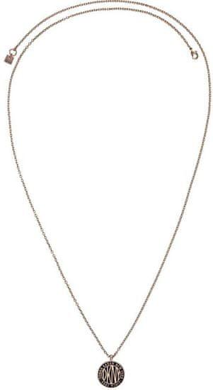 DKNY Dlhý náhrdelník s logom Token New York 5520027