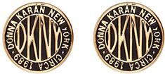 DKNY Napichovacie náušnice Token New York 5520032