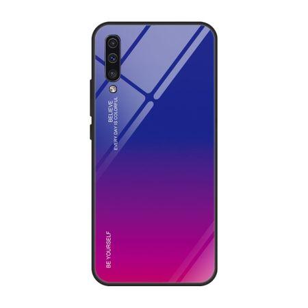 MG Gradient Glass műanyag tok Samsung Galaxy A50 / A50s / A30s, rózsaszín/lila
