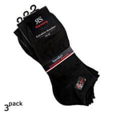 RS Pánské bavlněné letní nízké sneaker jednobarevné ponožky 3Pack