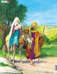 LARSEN Puzzle Bible - Cesta do Egypta 48 dílků