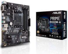 Asus PRIME B450M-A/CSM, DDR4, USB 3.1 Gen2, AM4, mATX matična ploča