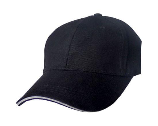 ORSI čepice kšiltovka černá