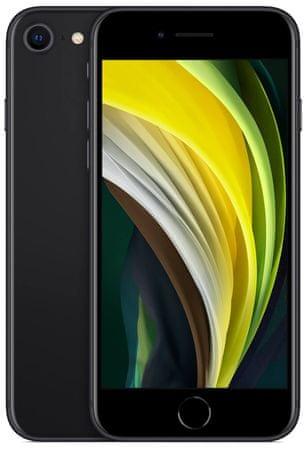Apple iPhone SE (2020) mobilni telefon, 64 GB, črn