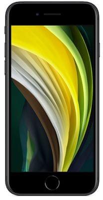 Apple iPhone SE, Retina HD displej, TrueTone displej, věrné barvy, vysoké rozlišení, velký displej, šetrný