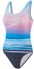 Speedo strój kąpielowy jednoczęściowy damski Digi Plmt U-Bk 1Pc AF