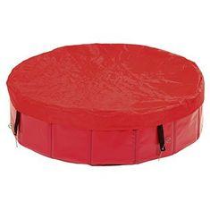 Karlie osłona na basen, czerwona