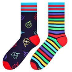 More Pánské vzorované ponožky 079