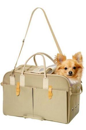 Karlie szállító táska, bézs, 37x15x27 cm