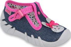 Befado dievčenské papučky Speedy 110P379