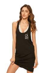 Calvin Klein Plážové šaty KW0KW01020-BEH černá - Calvin Klein