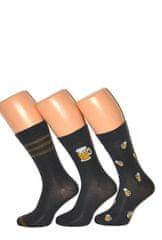 Cornette Pánské ponožky Cornette Premium A41 A'3