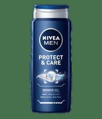 Nivea Men Protect & Care gel za prhanje, 500 ml