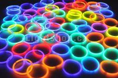 Svíticí párty náramky - tyčinky 50 ks - 20 cm