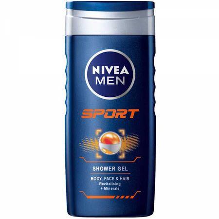 Nivea Men Sport gel za prhanje, 250 ml - Odprta embalaža