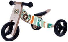 Legoni drveni bicikl 2u1, Indian