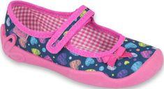 Befado dievčenské papučky Blanca 114X396