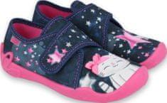 Befado dievčenské papučky Blanca 122X003