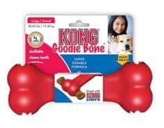 Flamingo hračka KONG Goodie kost