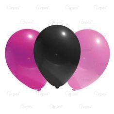 Latexové balóniky - pastelové - 12 ks - 24 cm