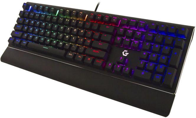 CZC.cz GK600 Nightblade herná RGB klávesnica cherry mx silent red mechanická n-key rollover