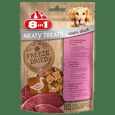 8in1 Meaty Treats priboljški za pse, raca, 50 g