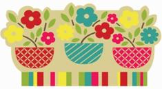 Home Elements Rohožka gumová kokosová Farebné Kvety - mix farieb 45 x 75 cm