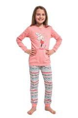 Cornette Dívčí pyžamo 594/107 Kids walk - CORNETTE