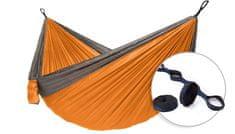 Hamaka SET Houpací síť pro dva Camping + slapstrapy