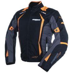 Cappa Racing Bunda motoAREZZO textilní černá/oranžová