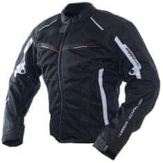 Cappa Racing Bunda moto letná UNISEX RACING textilná čierna