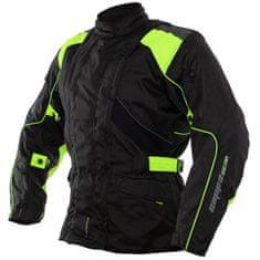 Cappa Racing Bunda moto UNISEX ROAD textilní černá/zelená