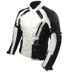 Cappa Racing Bunda moto UNISEX KISO textilní černá/šedá