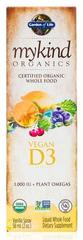 Garden of Life Vitamín D3 sprej 58ml