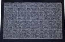 DURAmat Čisticí vstupní rohož guma & polypropyen BLOCK 60 x 90 cm šedá