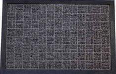 DURAmat Čisticí vstupní rohož guma & polypropyen HARP 40x60 cm černá