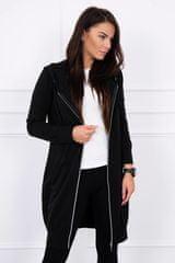Kesi Mikinové šaty s kapucí, černá