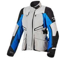 Macna dámská bunda Fusor light grey/blue/black