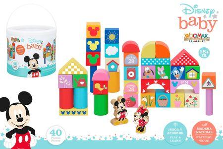 Disney kocke Mickey, lesene, 40 kosov