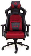 CZC.Gaming Throne GX800, čierna / červená