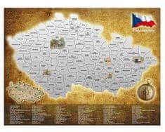 Alum online Stírací mapa Česká republika